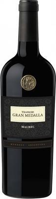 Вино красное сухое «Trapiche Gran Medalla Malbec» 2012 г.