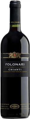 Вино красное сухое «Folonari Chianti» 2012 г.