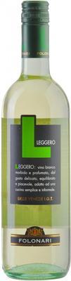 Вино белое полусухое «Folonari Leggero Venezie» 2013 г.