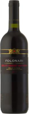 Вино красное сухое «Folonari Merlot Cabernet Sauvignon delle Venezie» 2011 г.