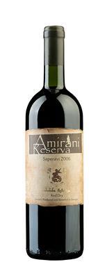 Вино красное сухое «Saperavi» 2006 г.