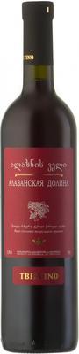 Вино красное полусладкое «Tbilvino Alazani Valley Red Semi Sweet» 2015 г.