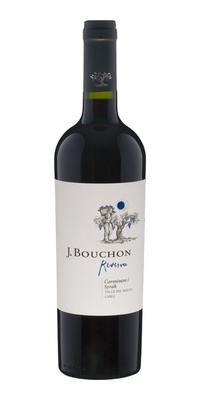 Вино красное сухое «J. Bouchon Carmener/Syrah Reserva» 2013 г.