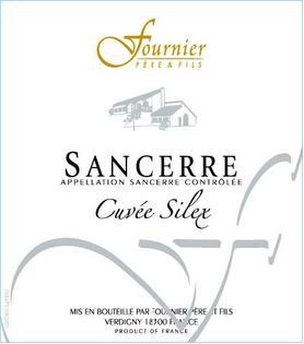 Вино белое сухое «Sancerre Cuvee Silex» 2012 г.