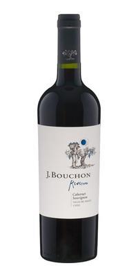 Вино красное сухое «J. Bouchon Cabernet Sauvignon Reserva» 2014 г.