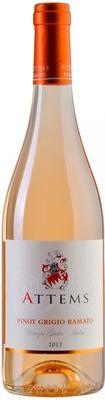 Вино белое сухое «Attems Ramato Pinot Grigio Venezia Giulia» 2013 г.