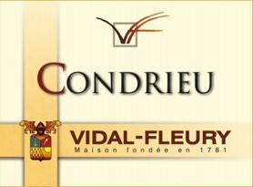 Вино белое сухое «Vidal-Fleury Condrieu» 2009 г.