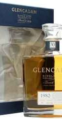 Виски «Glencadam Single Cask Highland Single Malt» 1982 г.