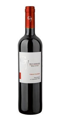 Вино красное сухое «G7 Cabernet Sauvignon» 2014 г.