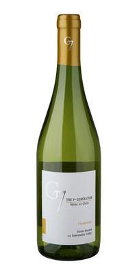 Вино белое сухое «Chardonnay G7» 2015 г.