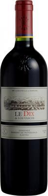 Вино красное сухое «Le Dix de los Vascos» 2010 г.