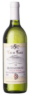 Вино белое полусухое «Grand Gourmand blanc»