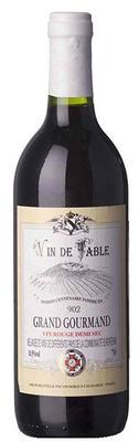 Вино красное полусухое  «Grand Gourmand Rouge»