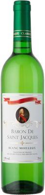 Вино белое полусладкое «Baron De Saint Jacgues Blanc Moelleux»