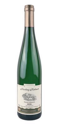 Вино белое полусладкое «Schmitt Sohne Riesling Kabinett» в зеленой бутылке