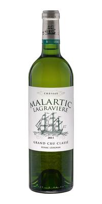 Вино белое сухое «Chateau Malartic Lagraviere Grand Cru Classe» 2011 г.
