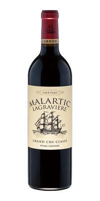 Вино красное сухое «Chateau Malartic Lagraviere Grand Cru Classe rouge sec» 2011 г.