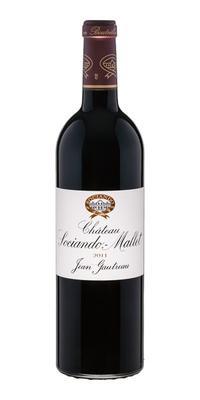 Вино красное сухое «Chateau Sociando-Mallet» 2011 г.