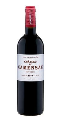 Вино красное сухое «Chateau de Camensac Grand Cru Classe» 2007 г.