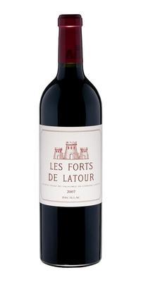 Вино красное сухое «Les Forts de Latour 2-me» 2007 г.