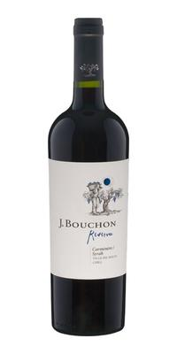 Вино красное сухое «J. Bouchon Carmener/Syrah Reserva» 2014 г.