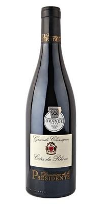 Вино красное сухое «Domaine de la Presidente Grands Classique» 2014 г.