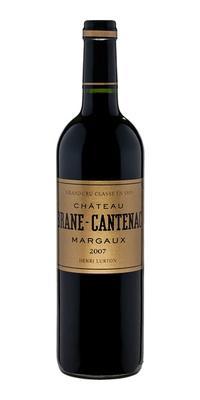Вино красное сухое «Chateau Brane Cantenac Grand Cru Classe» 2007 г.