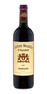 Вино красное сухое «Chateau Malescot St. Exupery Grand Cru Classe» 2007 г.