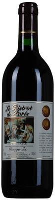 Вино красное сухое «Le Bistrot de Paris Rouge Sec»