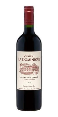 Вино красное сухое «Chateau La Dominique Grand Cru Classe» 2011 г.