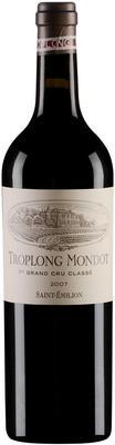 Вино красное сухое «Chateau Troplong Mondot» 2007 г.