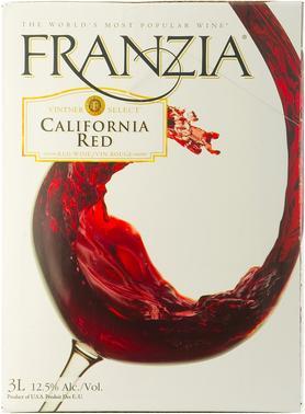 Вино красное полусухое «Franzia California Red»