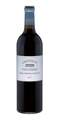 Вино красное сухое «Chateau Faugeres Grand Cru» 2011 г.