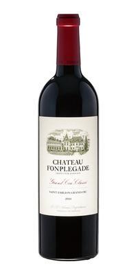 Вино красное сухое «Chateau Fonplegade Grand Cru Classe» 2011 г.