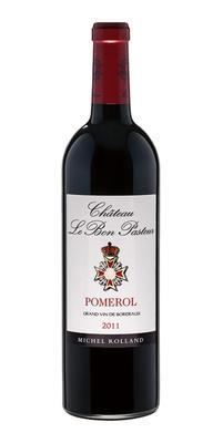 Вино красное сухое «Chateau Le Bon Pasteur» 2011 г.