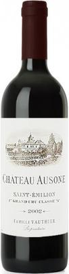 Вино красное сухое «Chateau Ausone Saint-Emilion 1er Grand Cru Classe B» 2002 г.