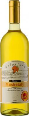 Вино белое полусладкое «Szigetvin Matrai Muskotaly »
