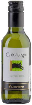 Вино белое сухое «Gato Negro Sauvignon Blanc, 0.187 л» 2013 г.