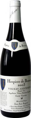 Вино красное сухое «Volnay-Santenots 1er Cru Hospices de Beaune Cuvee Gauvain» 2003 г.