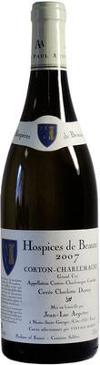 Вино белое сухое «Aegerter Hospices de Beaune Corton-Charlemagne Grand Cru» 2007 г.