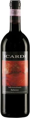 Вино красное сухое «Icardi Montubert Barbaresco» 2011 г.