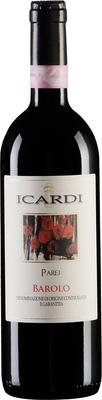 Вино красное сухое «Icardi Parej Barolo» 2009 г.