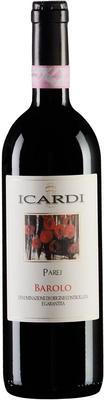 Вино красное сухое «Icardi Parej Barolo» 2008 г.