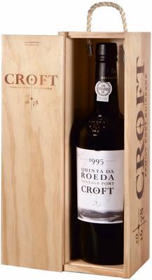 Портвейн «Quinta da Roeda Vintage Port» 1995 г., в подарочной упаковке