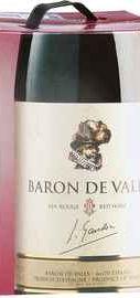 Вино красное полусухое «Baron de Valls»