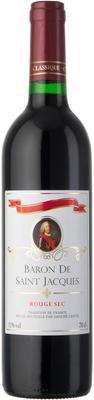 Вино красное сухое «Baron De Saint Jacgues Rouge Sec»