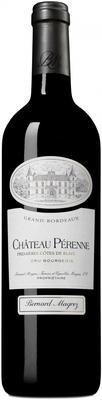 Вино красное сухое «Chateau Perenne» 2011 г.