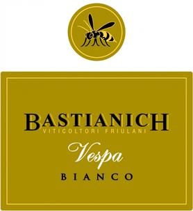 Вино белое сухое  «Bastianich Vespa Bianco» 2013 г.