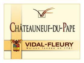 Вино красное сухое  «Vidal-Fleury Chateauneuf-du-Pape» 2010 г.