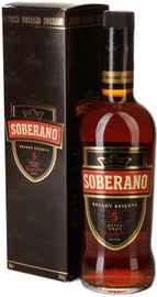 Бренди «Soberano Reserva 5 years» в подарочной упаковке